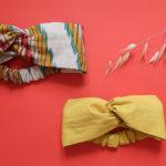 DIY – Coudre un bandeau turban (pour adulte et bébé) très facilement !