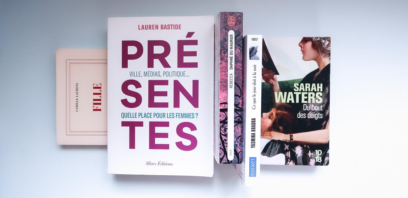 Lectures-Livres-Lauren-Bastide-Camille-Laurens-Daphne-du-Maurier-Yasmina-Khadra-Sarah-Waters-lea-pilea-blog-01