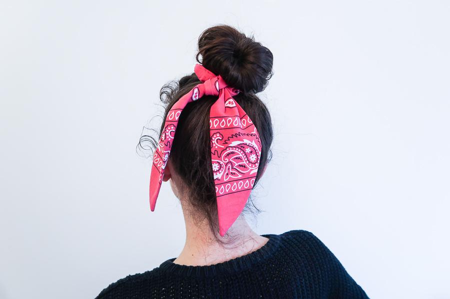 DIY-Coudre foulchie-tuto-tres-facile-avec-bandana-chouchou-foulard-sans-patron-cheveux-noeud-lea-pilea-blog-28
