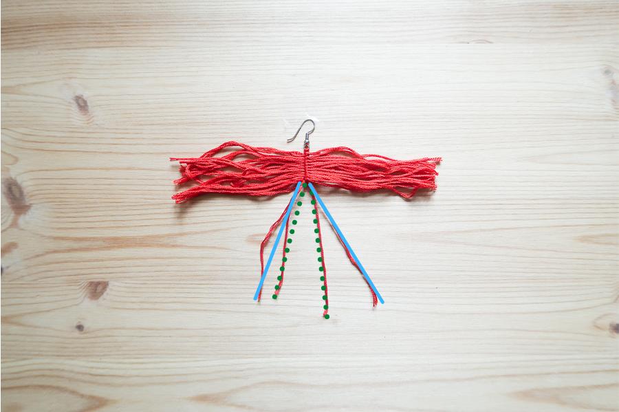 DIY-Fabriquer- boucles-oreilles-plume-tuto-simple-facile-rapide-macrame-fil-broder-lea-pilea-blog-17