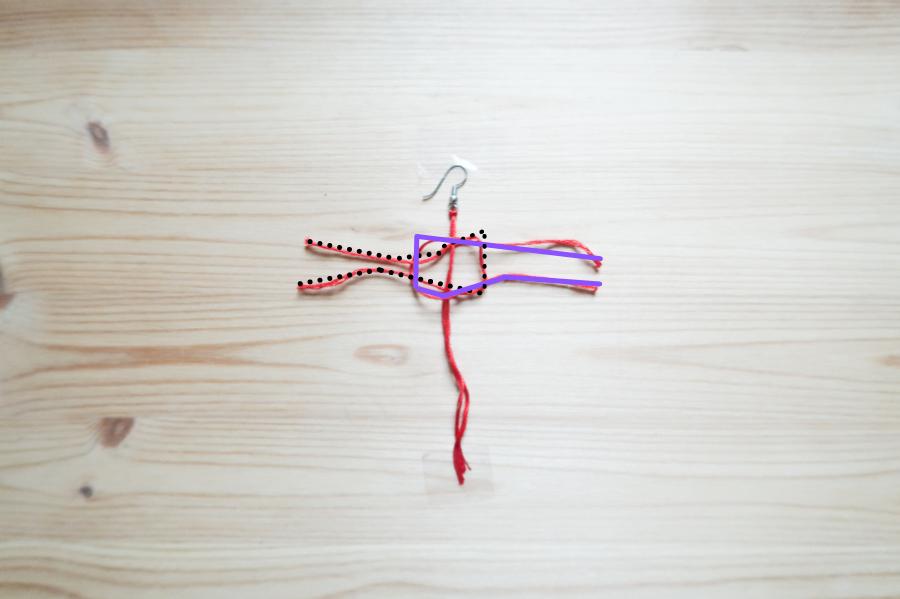 DIY-Fabriquer- boucles-oreilles-plume-tuto-simple-facile-rapide-macrame-fil-broder-lea-pilea-blog-20